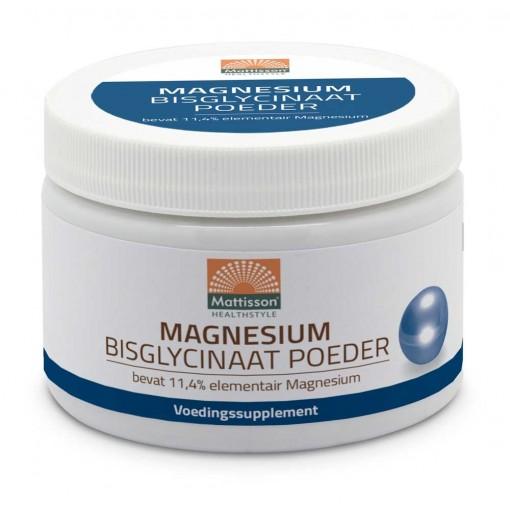Mattisson Magnesium Bisglycinaat Poeder 11.4% Elementair
