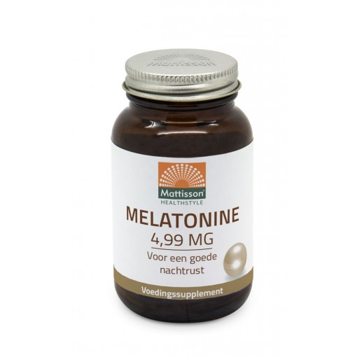 Mattisson Melatonine 4.99 mg