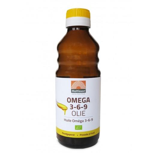 Mattisson Omega 3-6-9 Olie