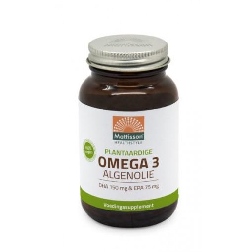Mattisson Omega 3 Algenolie 120 capsules