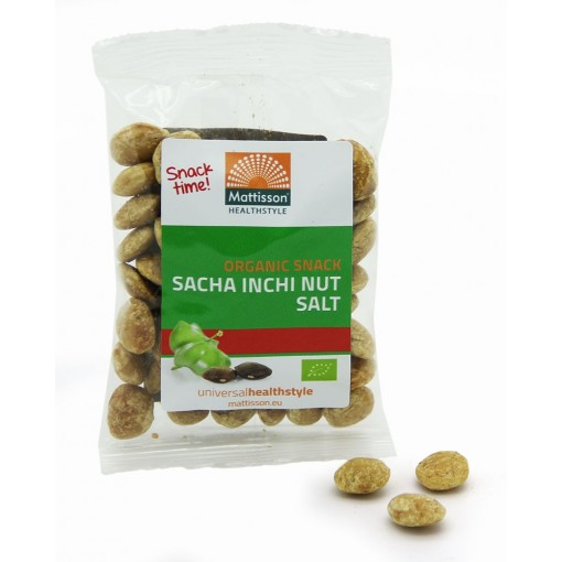 Mattisson Bio Sacha Inchi Nut & Salt Snack