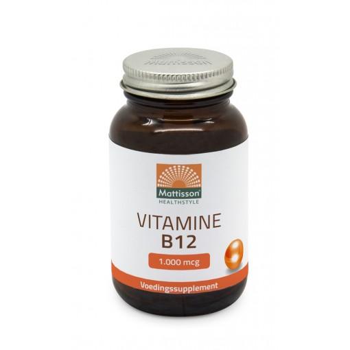 Mattisson Vitamine B12 1000 microgram