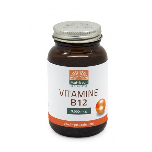 Mattisson Vitamine B12 5000 microgram