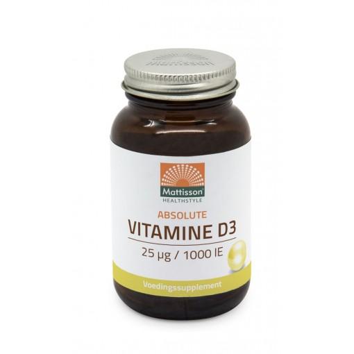 Mattisson Vitamine D3 25mcg / 1000 IU