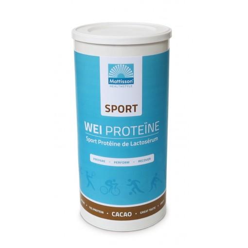 Mattisson Wei Proteïne Sport Cacao