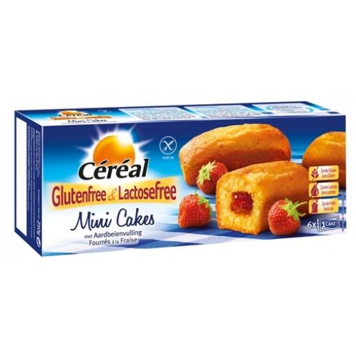 Céréal Mini Cakes Met Aardbeienvulling