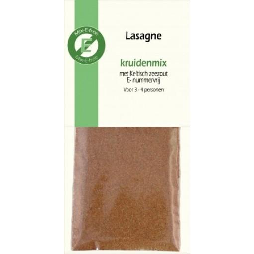 Mix-E-free Kruidenmix Lasagne