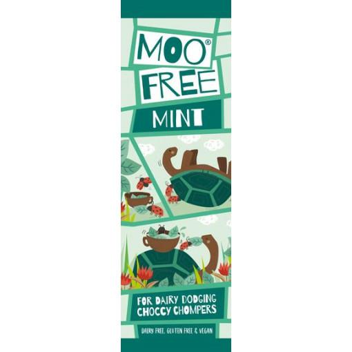 Moo Free Mini Bar Chocolade Mintsmaak Lactosevrij
