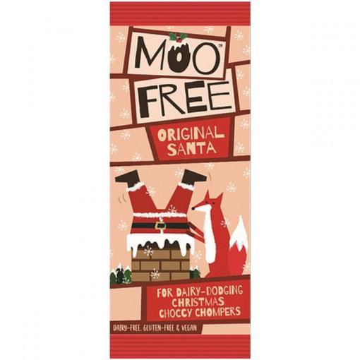 Moo Free Chocolade Kerstman Lactosevrij