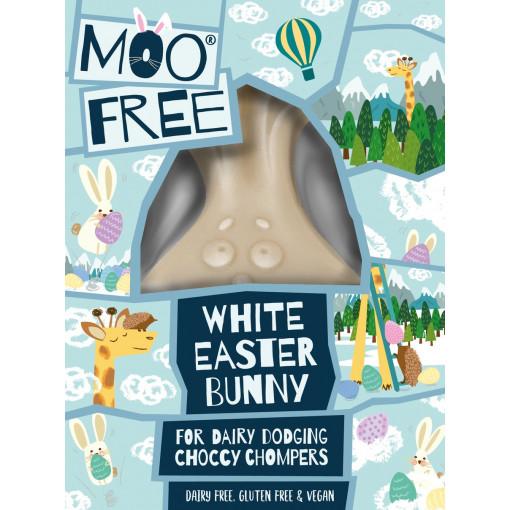 Moo Free Vegan Witte Chocolade Paashaas