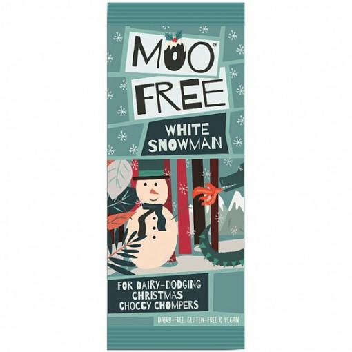 Moo Free Witte Chocolade Sneeuwpop Lactosevrij
