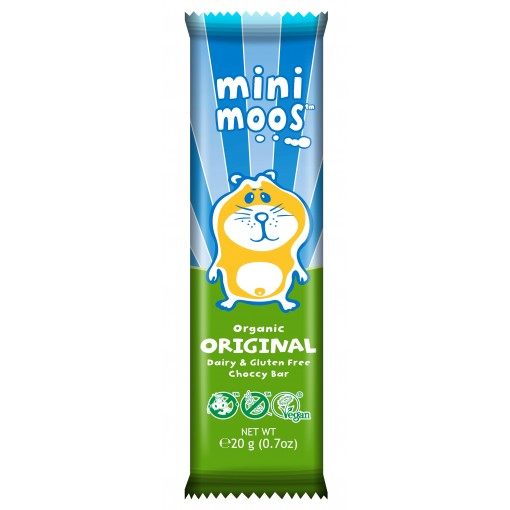 Moo Free Mini Moos Chocolade Original Lactosevrij
