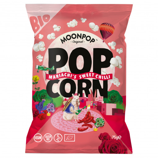 Moonpop Popcorn Mariachi's Sweet Chilli