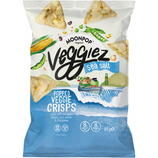 Moonpop Veggiez Sea Salt