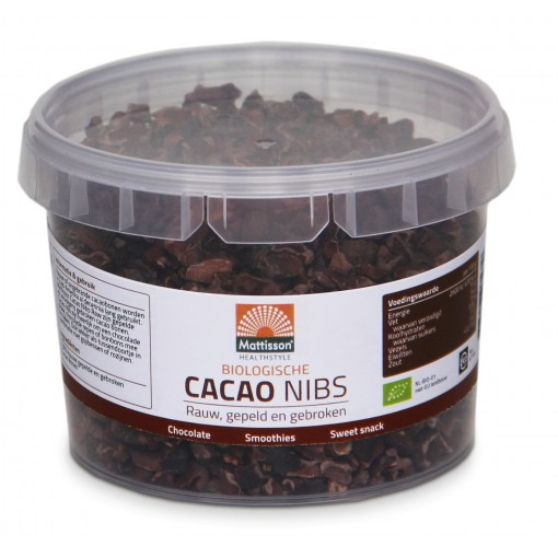 Mattisson Cacao Nibs Raw 150 gram