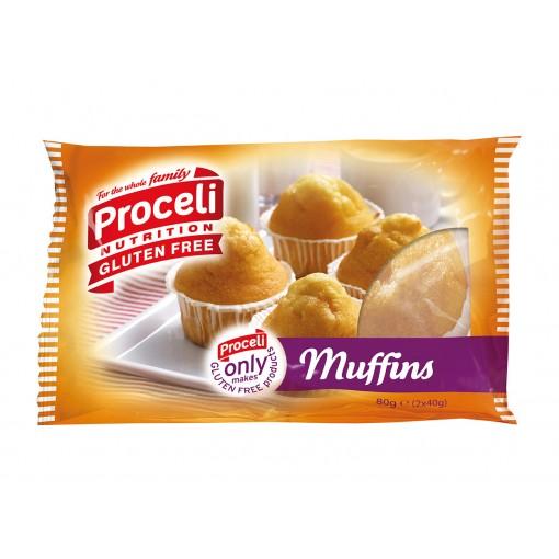 Proceli Muffins (2 stuks)