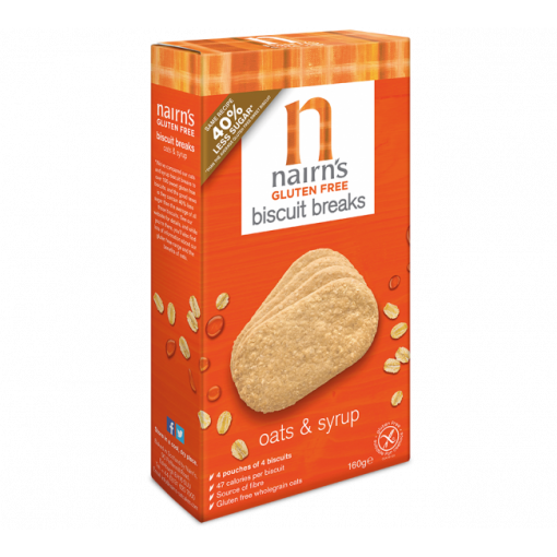 Nairn's Biscuit Breaks Haver & Siroop
