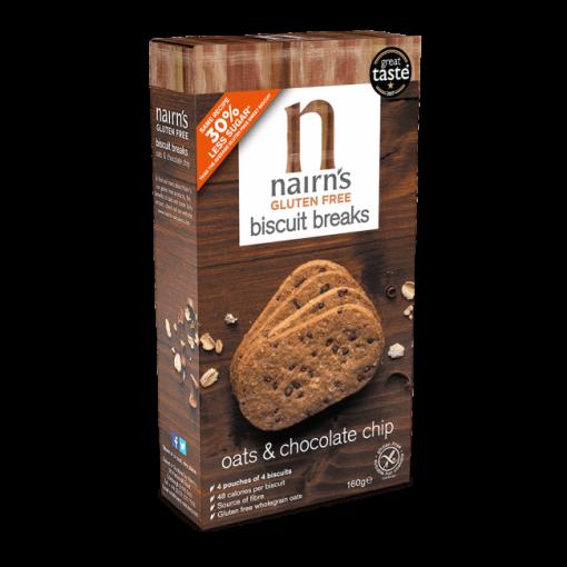 Nairn's Biscuit Breaks Haver & Chocolate Chip (03-11-2019)