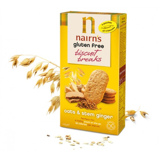 Nairn's Biscuit Breaks Haver & Gember