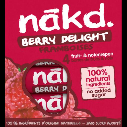 Nakd 4-pack Berry Delight Bar