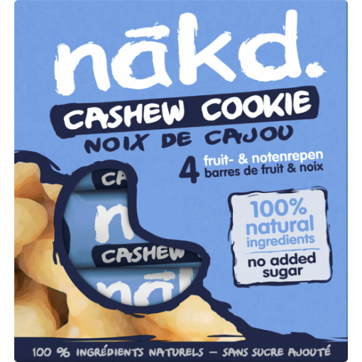 Nakd 4-pack Cashew Cookie Bar