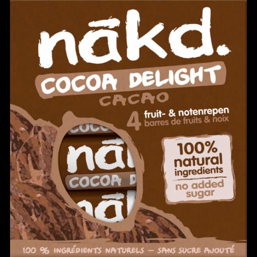 Nakd 4-pack Cocoa Delight Bar