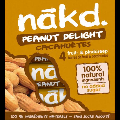 Nakd 4-pack Peanut Delight Bar
