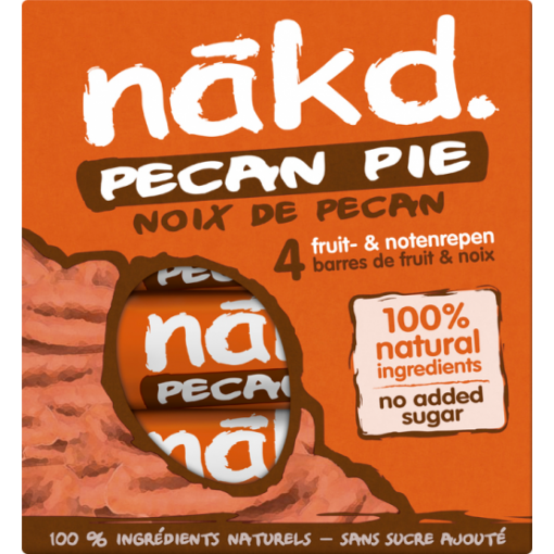 Nakd 4-pack Pecan Pie Bar