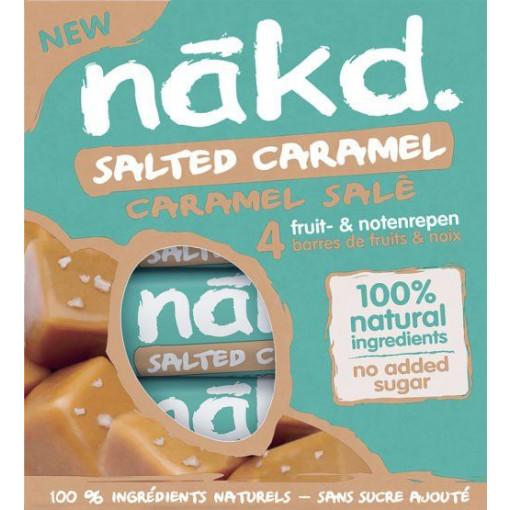 Nakd 4-pack Salted Caramel Bar