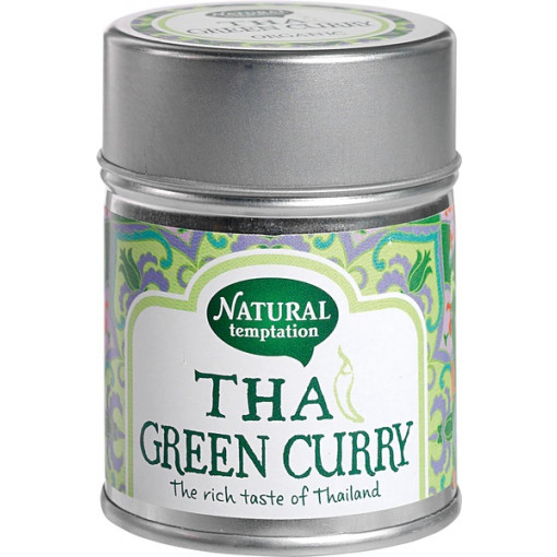 Natural Temptation Kruidenmix Thai Green Curry