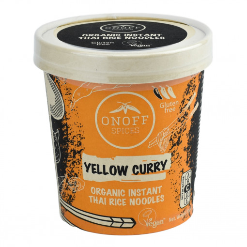 Onoff Spices Instant Thaise Rijst Noodles Yellow Curry