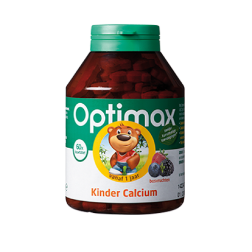 Optimax Kinder Calcium Bosvrucht
