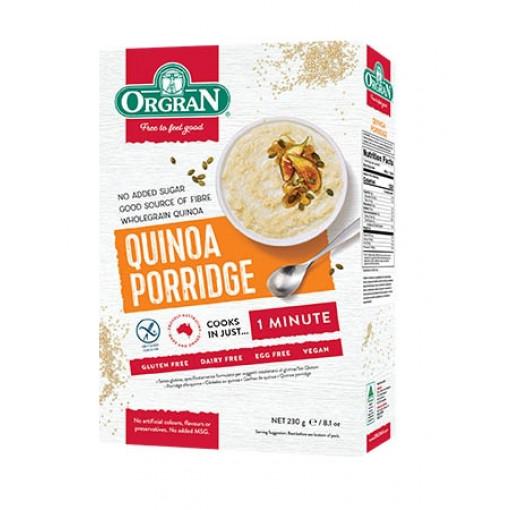Orgran Quinoa Porridge (T.H.T. 28-12-20)