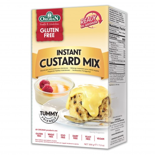 Orgran Instant Custard Mix