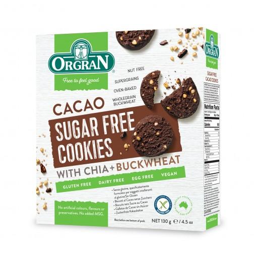 Orgran Chocoladekoekjes Suikervrij