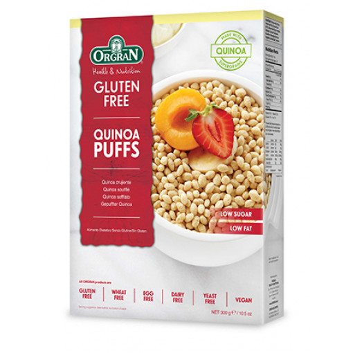Orgran Quinoa Puffs (T.H.T. 11-01-21)