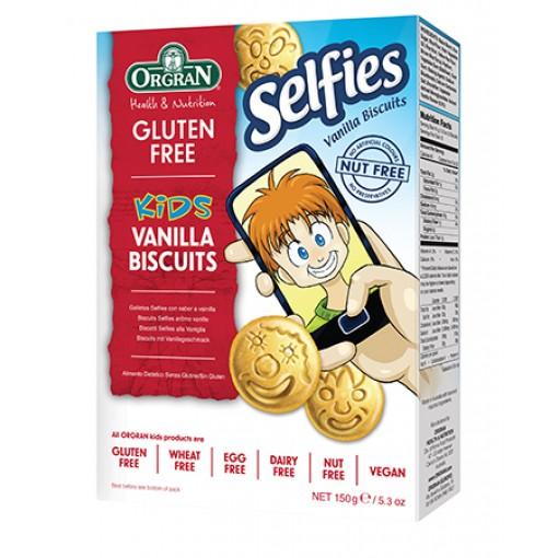Orgran Selfies Biscuits Vanille