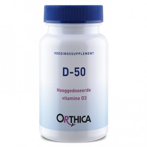 Orthica D-50 120 tabletten