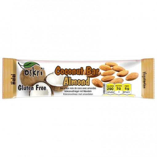 Oskri Coconut Bar Almond