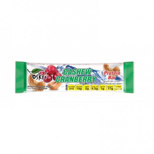 Oskri Protein Bar Cashew Cranberry