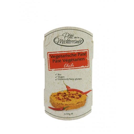 Pâté de la Mediterranee Vegetarische Paté Chili