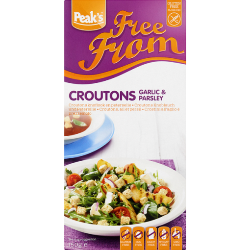 Peak's Croutons Knoflook & Peterselie