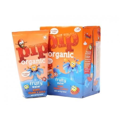 Fruitwater Mango, Sinaasappel & Appel