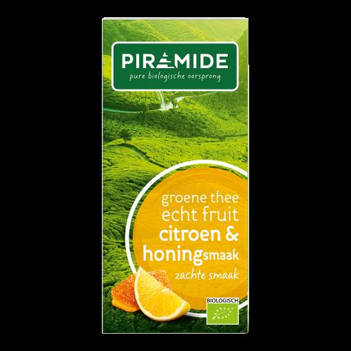 Piramide Groene Thee Citroen Honingsmaak