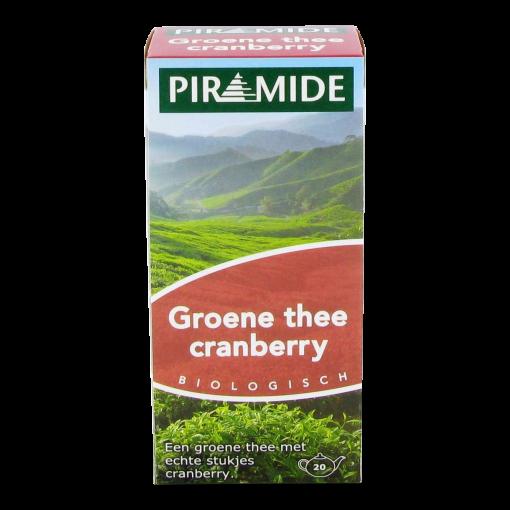 Piramide Groene Thee Cranberry