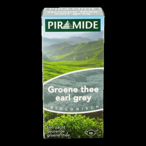 Piramide Groene Thee Earl Grey