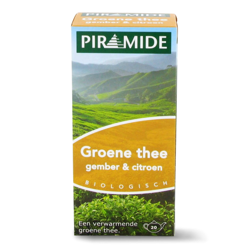 Piramide Groene Thee Gember & Citroen