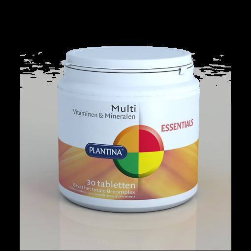 Plantina Multi Vitaminen & Mineralen 30 Tabletten