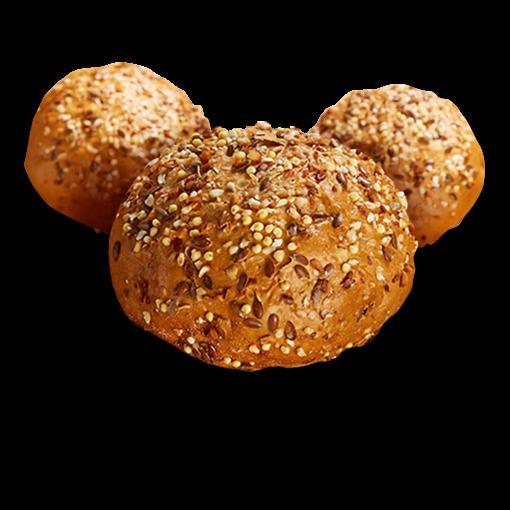 Poensgen Meergranen Broodjes (4 stuks)