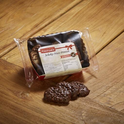 Poensgen Hazelnootkoekjes Pure Chocolade